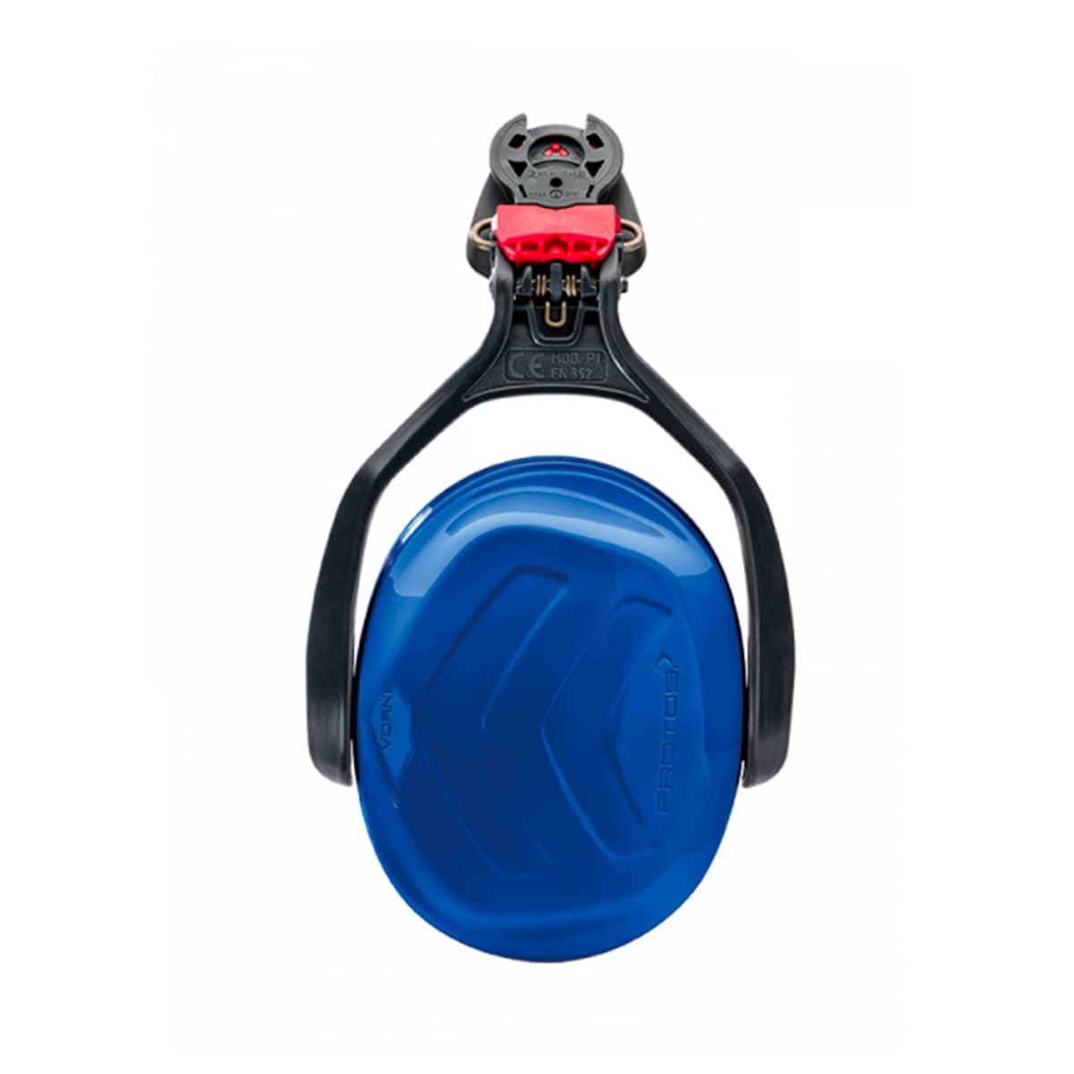 Casque Protos kit anti-bruit bleu