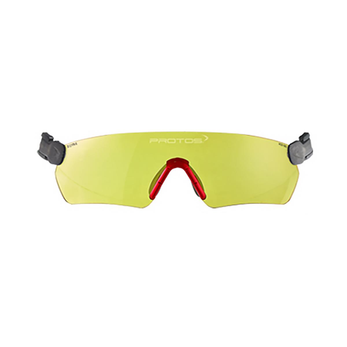 Pfanner Casque Protos lunettes de protection jaunes