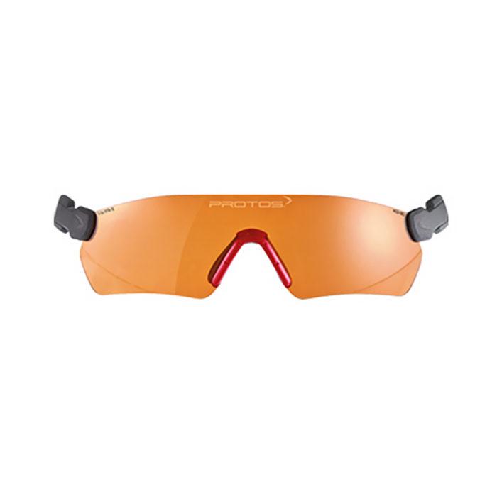 Pfanner Casque Protos lunettes de protection oranges