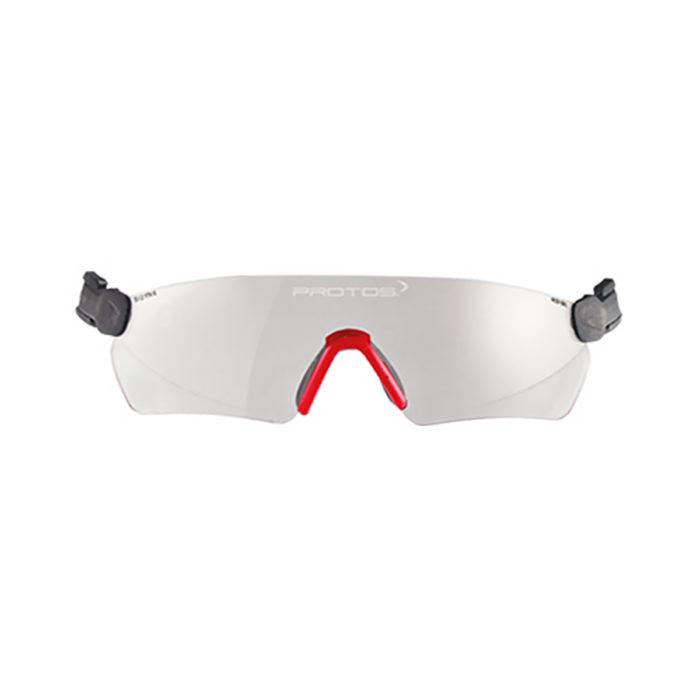 Pfanner Casque Protos lunettes de protection transparentes