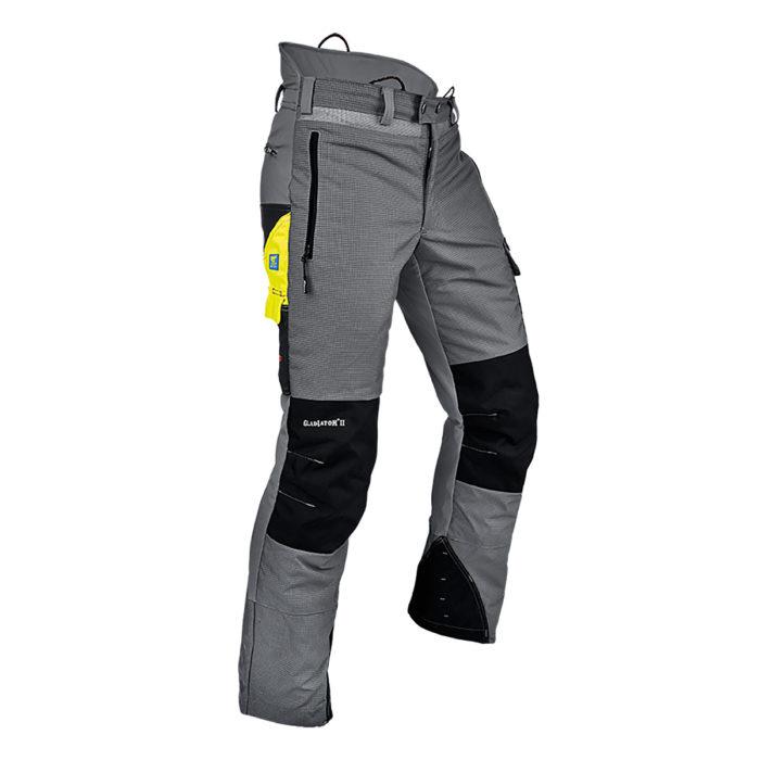 Pfanner pantalon Gladiator Ventilation Anticoupure gris