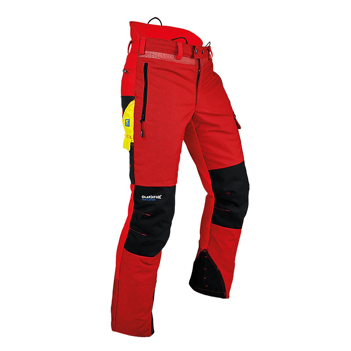 Pfanner pantalon Gladiator Ventilation Anticoupure rouge