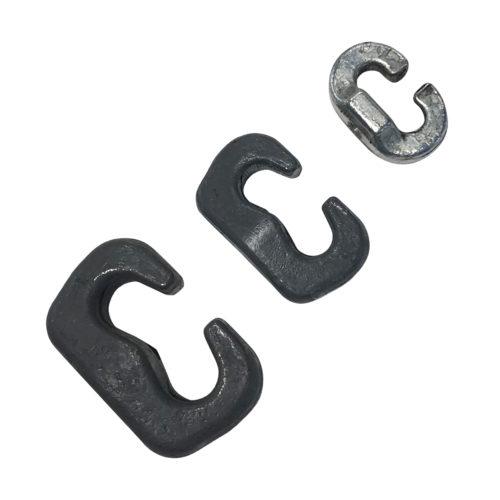 Serrures en C pour chaînes à roues