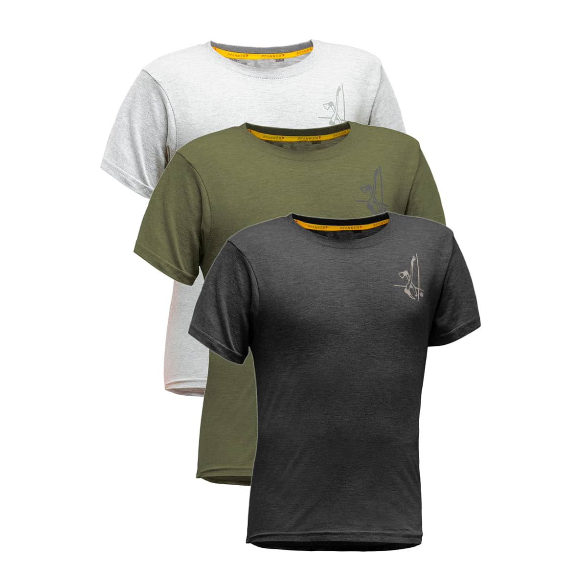 Lot de 3 T-Shirts PFANNER Bûcheron