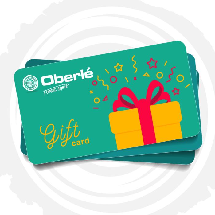 Carte cadeau Oberle