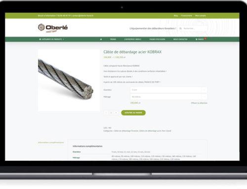 Oberle Forest Equip lance sa nouvelle boutique en ligne !