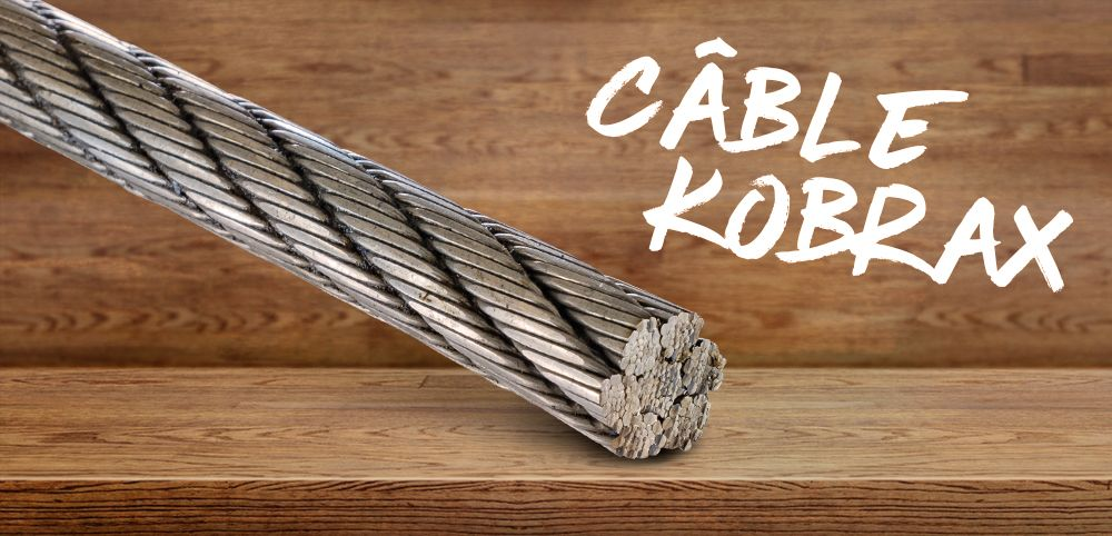 Câble de débardage acier Kobrax