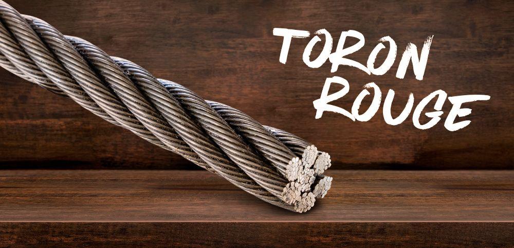 Câble de débardage acier Toron Rouge