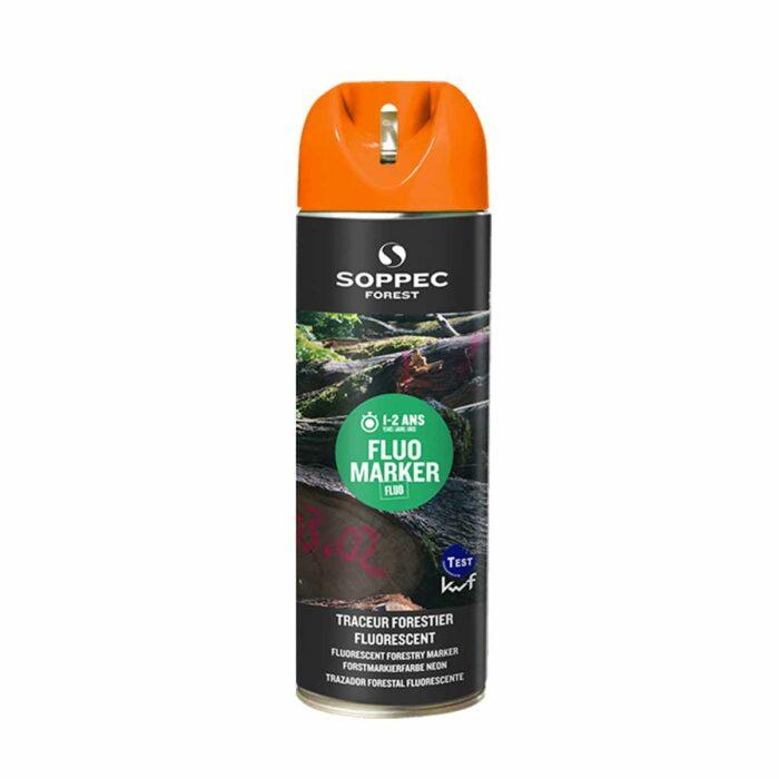 Bombe de marquage forestier orange